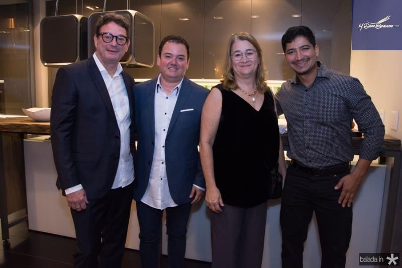 Pedro Paulo, Portela Aguiar, Marcia Duque Estrada e Vagner Cavalcante