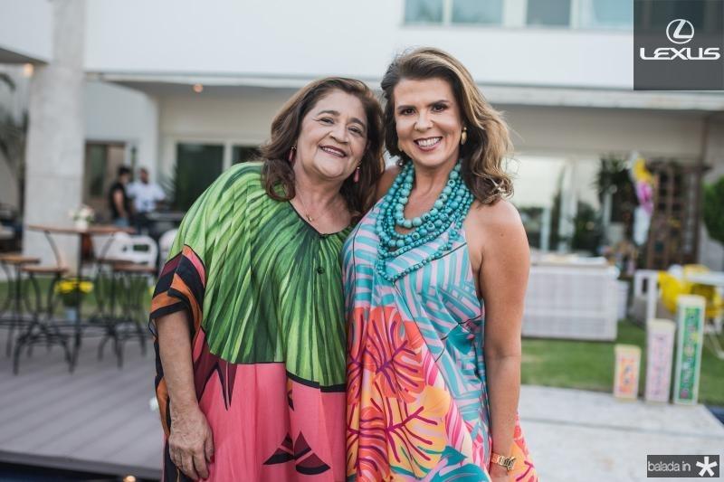 Clezia Araujo e Alexandra Pinto