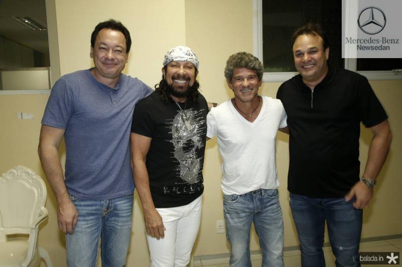 Pedro neto, Bell Marques, Varvalhinho e Enio Cabral
