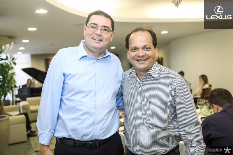 Roberto Ramos e Fernando Ximenes