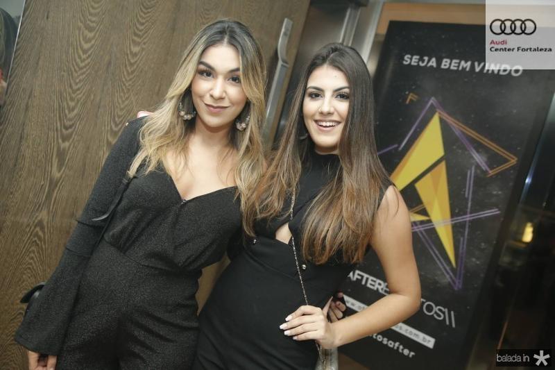 Amanda Amaral e Eduarda Cabral