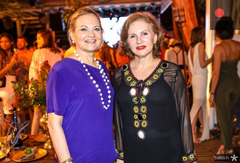 Lenise Rocha e Renata Jereissati