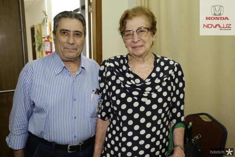 Roberto Misici e Zelia Petrola