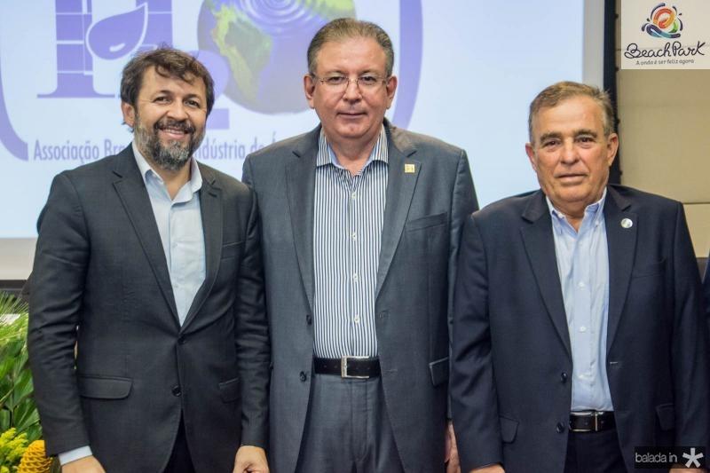 Elcio Batista, Ricardo Cavalcante e Claudio Targino