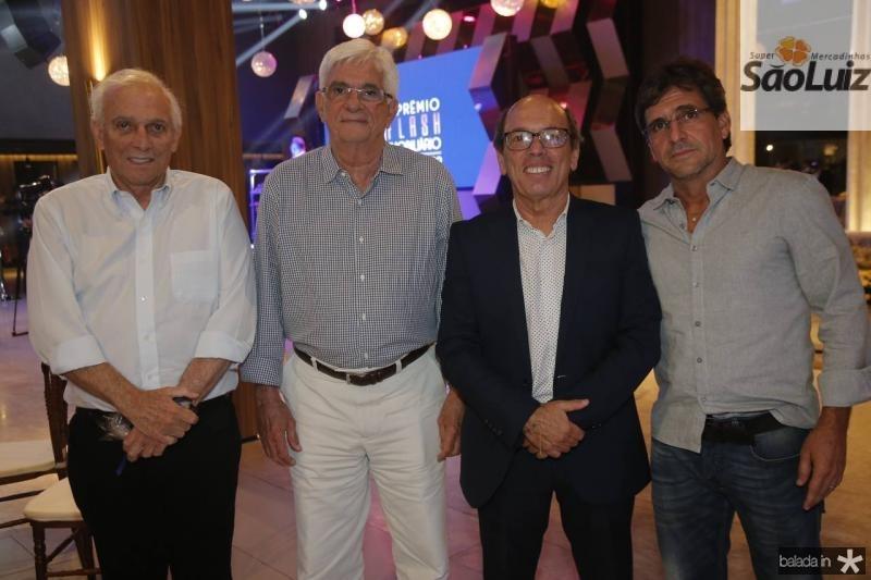 Jaime e Assis Machado, Andre Montenegro e Adalberto Machado
