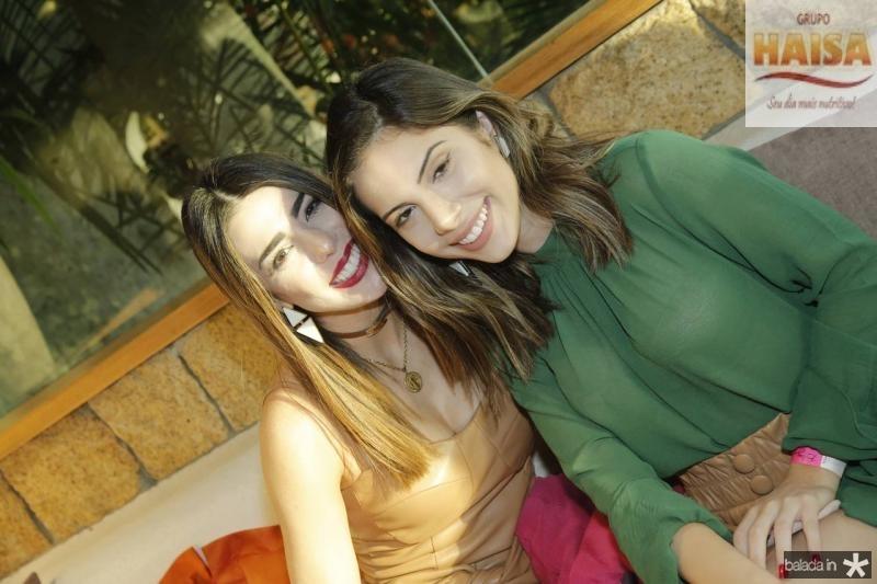 Juliana Cordeiro e Nicole Vasconcelos