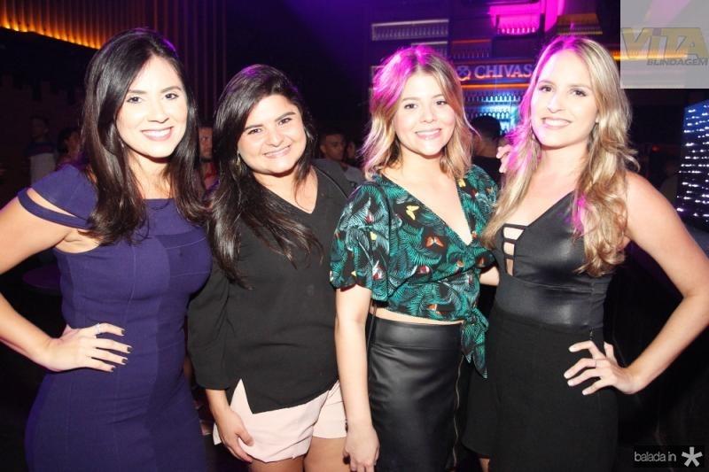 Jessica Almeida, Camila Cavalcante, Isabel Cavalcante e Flavia Ribeiro