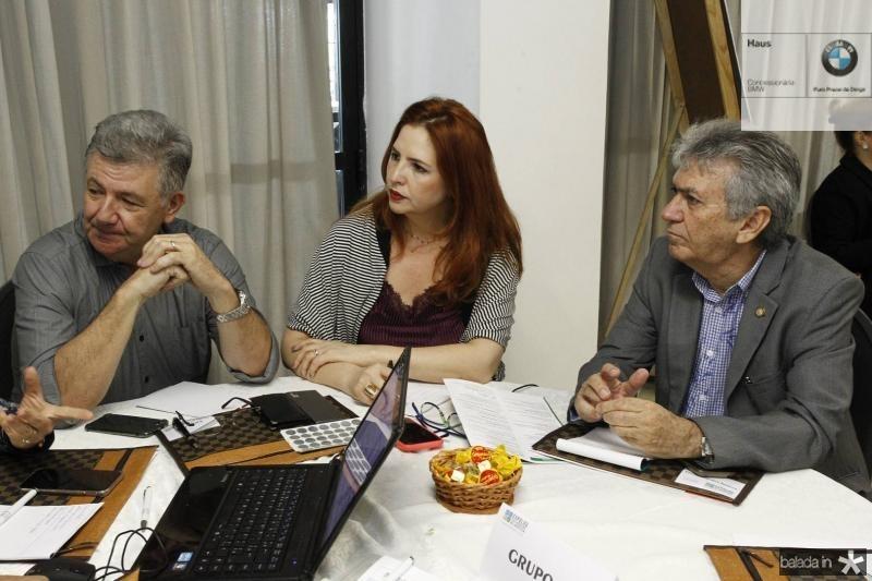 Carlos Maia, Enid Camara e Clovis Nogueira 2