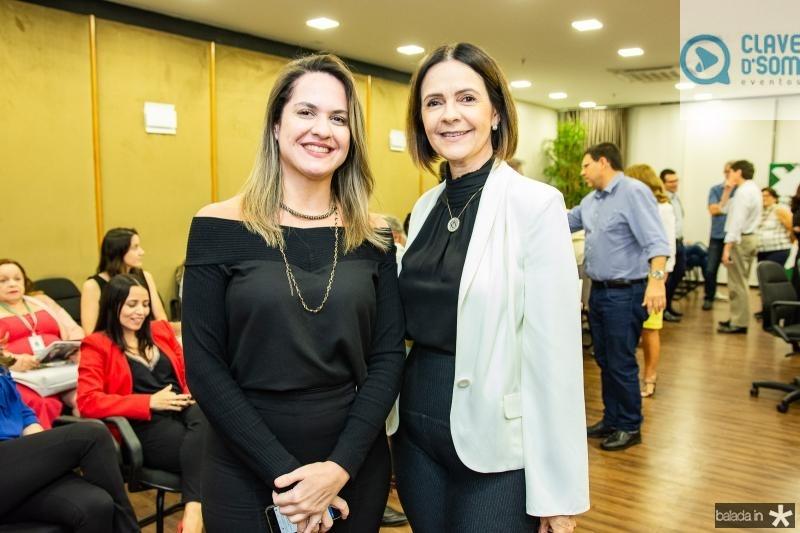 Juliana Guimaraes e Mirian Pereira