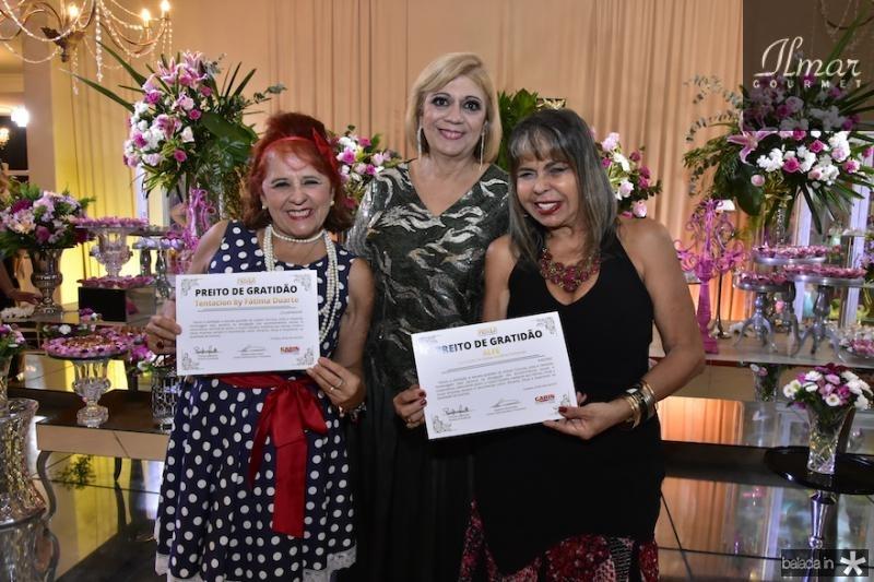 Fatima Duarte, Priscila Cavalcanti e Selma Cabral