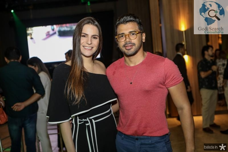 Lara Linhares e Romario Rodrigues