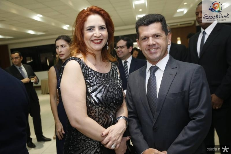 Enid Camara e Erick Vasconcelos