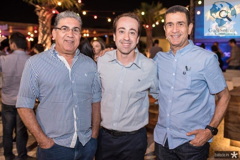 Antonio Junior, Fredy Carvalho e José Ximenes