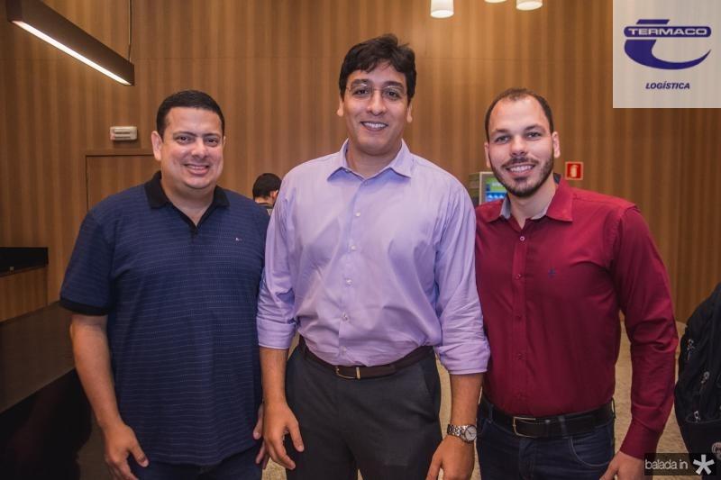 Rodrigo Cavalcante, Lima Neto e Bruno leitao