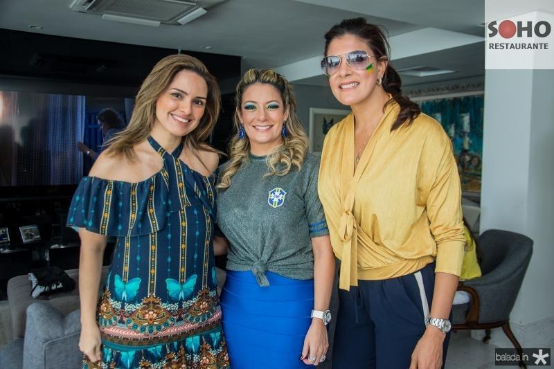 Mirna Paz, Tatiana Luna e Tatiana Moreira