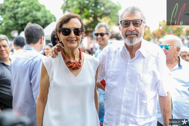 Ermengarda e Eudoro Santana