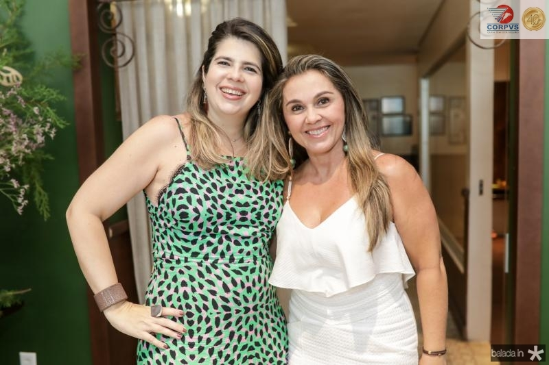 Daniela Leitao e Aninha Nobrega