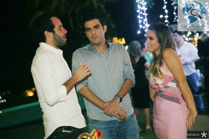 Rodrigo Frota, Rodrigo Nogueira e Vanessa Melo