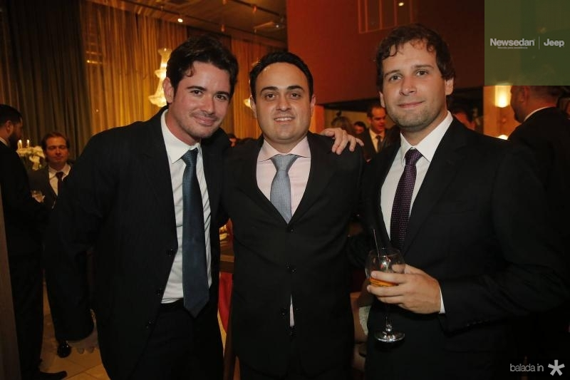Ivens Neto, Lula Alcantara e Taunair Alencar