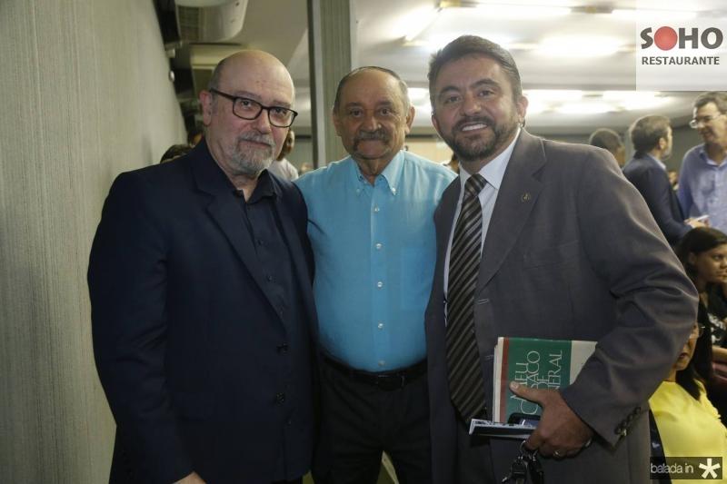 Luiz Eduardo Soares, Claumir Rocha e Andrade Junior
