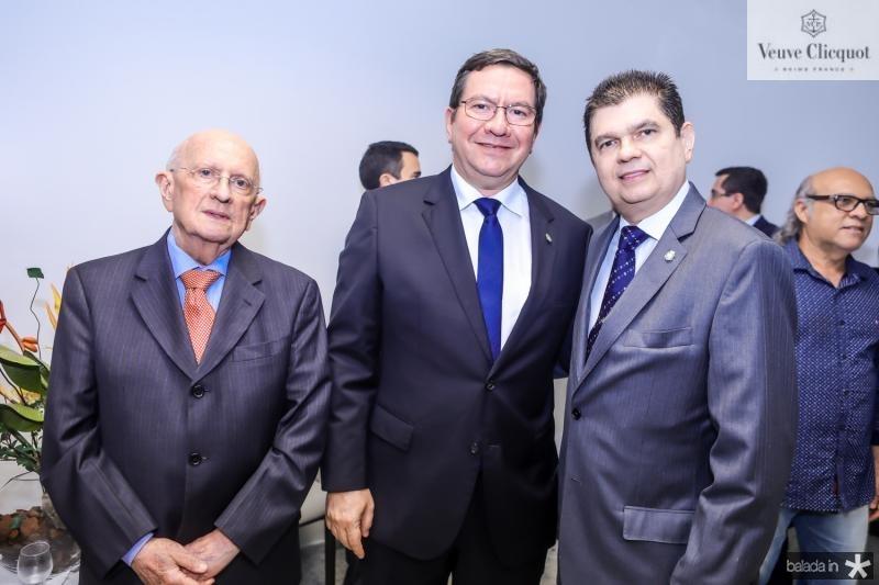 Jose Linhares, Lucio Ferreira Gomes e Mauro Filho
