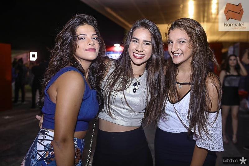 Rita Maximo, Camile Feijo e Natalia Bessa