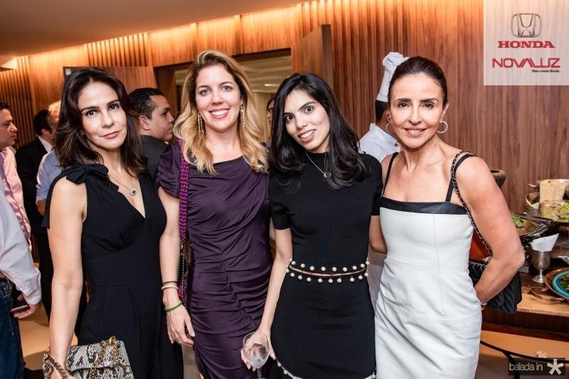 Sandra, Ticiana, Alessandra e Denise Rolim