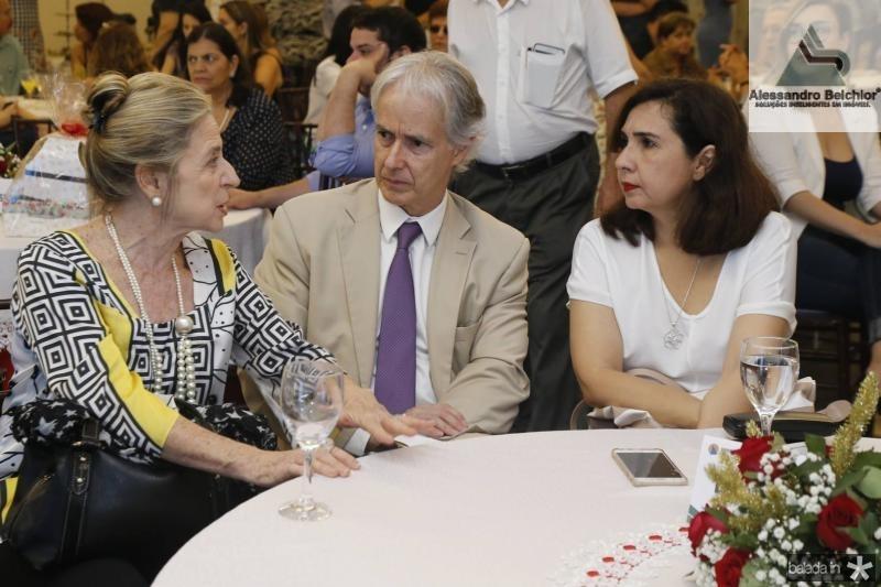 Anya Ribeiro, Marcos Pompeu e Neila Fontenele