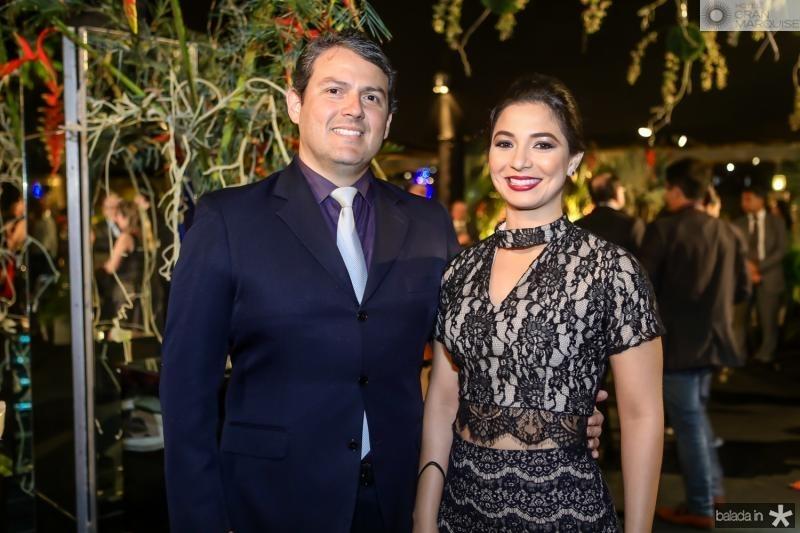 Paulo Saraiva e Jamila Araujo