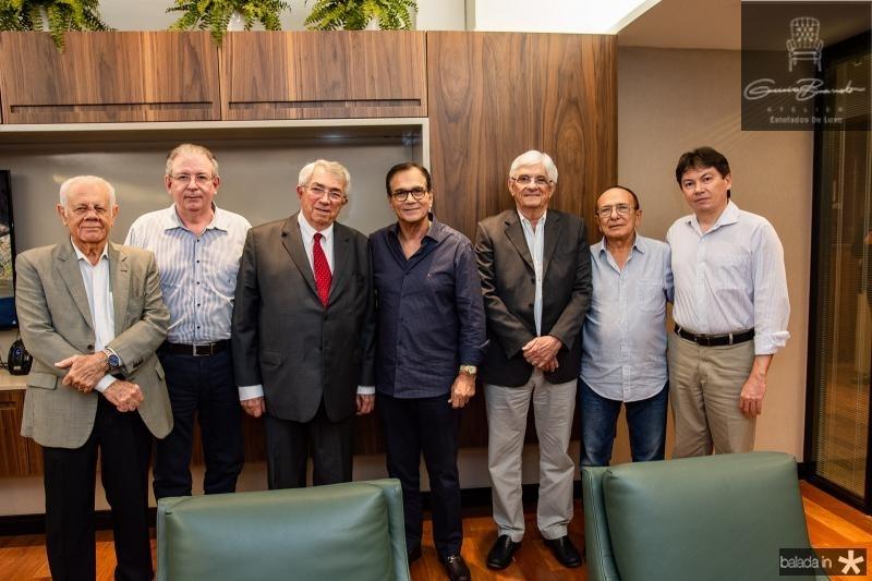 Flavio Saboia, Ricardo Cavalcante, Roberto Macedo, Beto Studart, Assis Machado, Marcos Montenegro e Edgar Gadelha