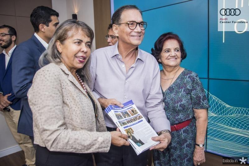 Selma Cabral, Beto Studart e Nirvanda Medeiros