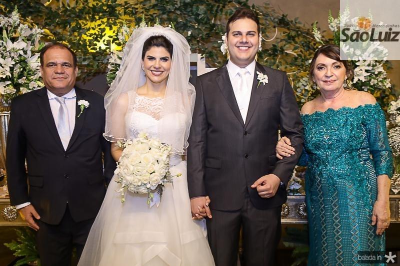 Roberto Moreira, Milena Leite, Daniel Lucena e Fátima Neves