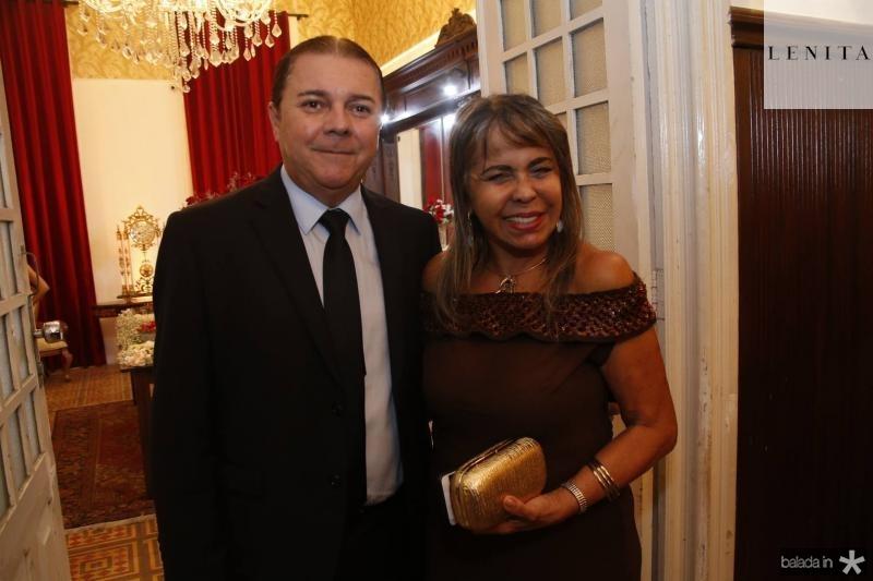 Eliseu Barros e Selma Cabral