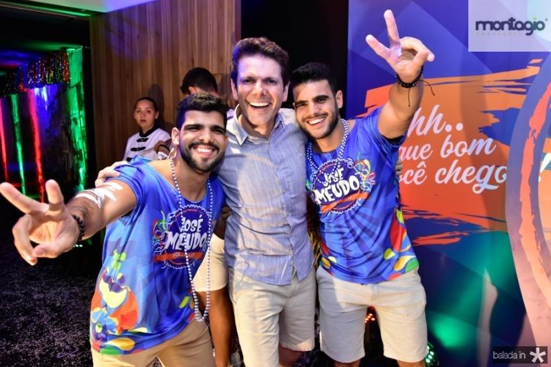 Fernando Costa, Jose Meudo e Lucas Costa