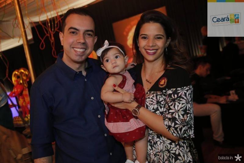 Antero Neto, Angelina e Rafaella Lima