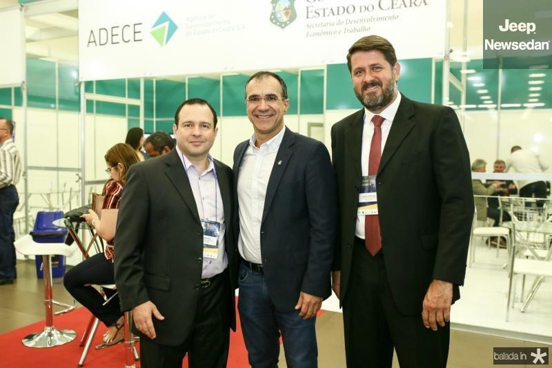 Igor Barroso, Eduardo Neves e eRafael Rodrigues