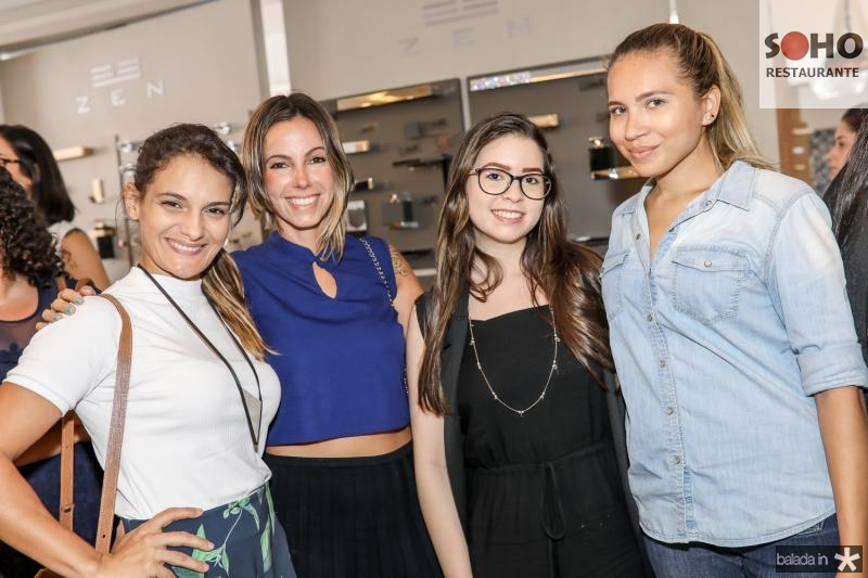Luciene de Paula, Rafaela Farias, Alessandra Magalhaes e Sainte Onorio