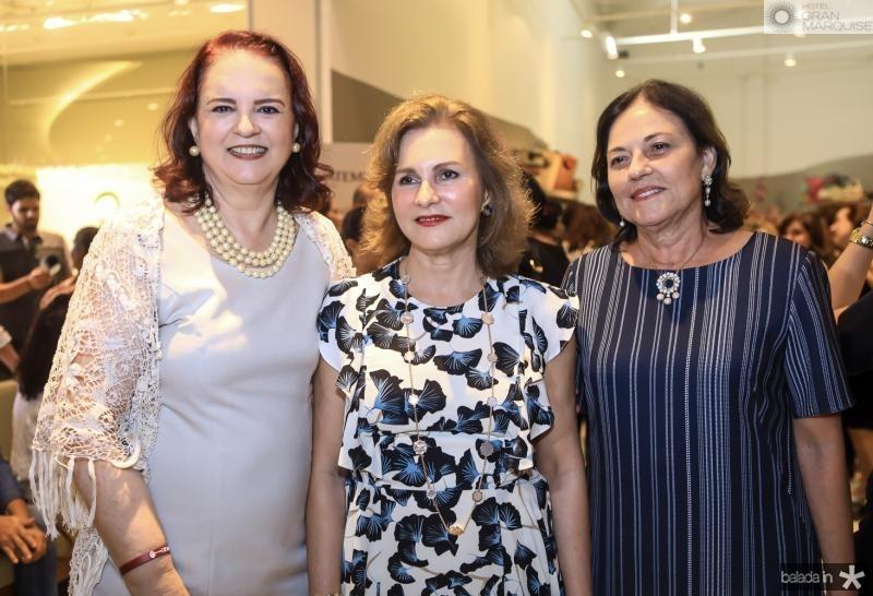 Ethel Whitehurst, Renata Jereissati e Ana Studart