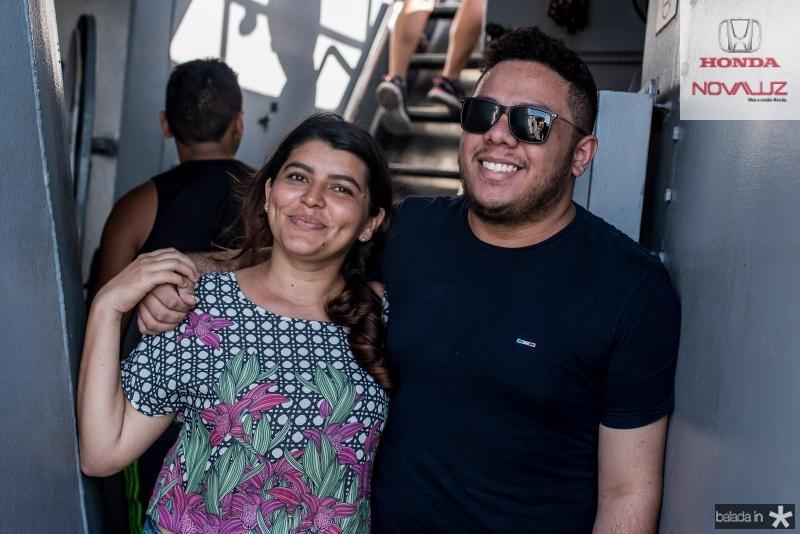 Virgina Sousa e Alef Ferreira