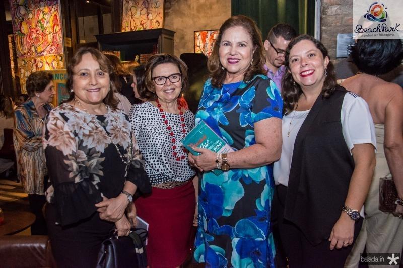 Marcilia Bastos, Silvana Chaves, Germana Viana e Lia Bastos Aguiar