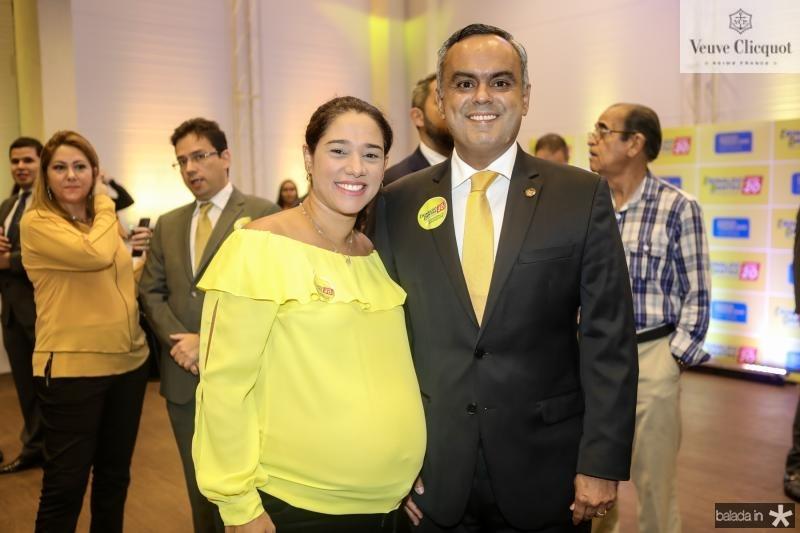 Renata e Marcelo Mora