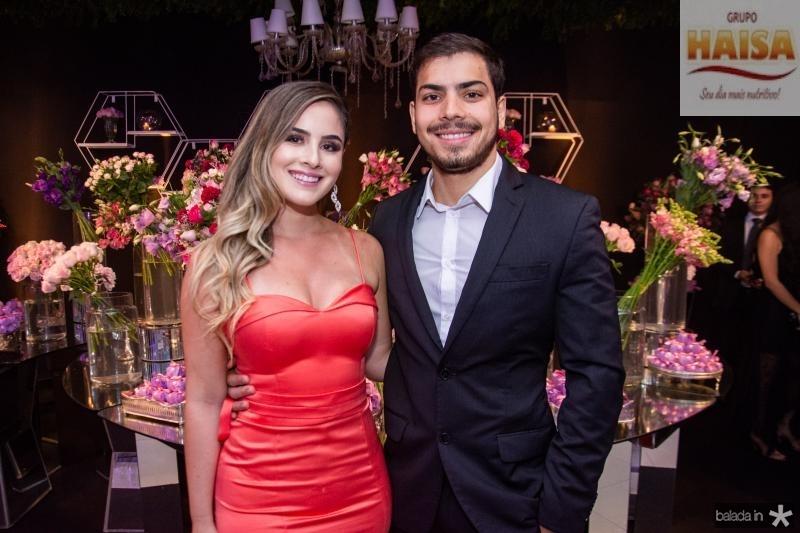 Desirre Macedo e Emanuel Ferreira