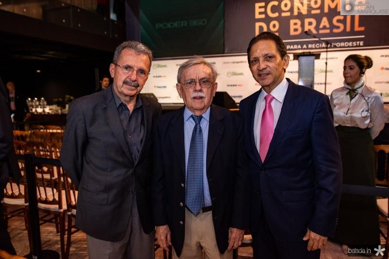 Egidio Serpa, Raimundo Padilha e Djalma Pinto