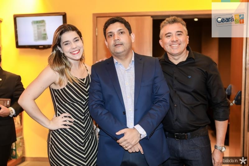 Naiana Ferraz, Bruno Queiroz e Paulo Mariano