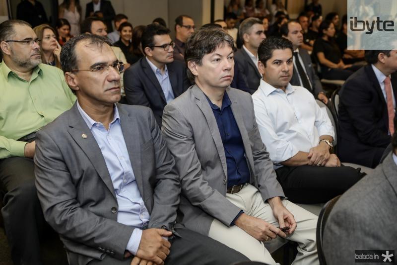 Eduardo Neves, Edgar Gadelha e Pompeu Vasconcelos