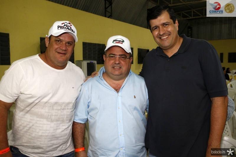 Adriano Assuncao, Roger Amorim e Orlando Siqueira