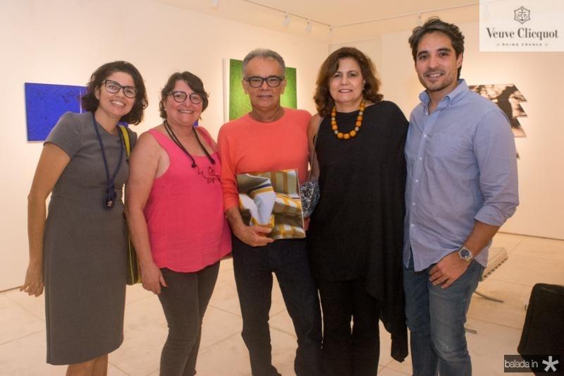 Juliana Atem, Herminia Lopes, Fernando Barroso, Marcia Cavalcante e Rodrigo Porto