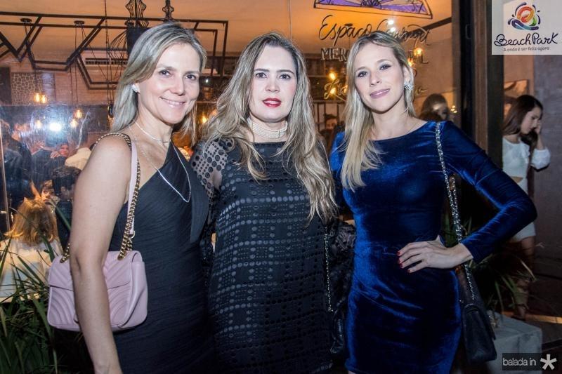 Cristiane Farias, Adriana Laje e Martinha Freire