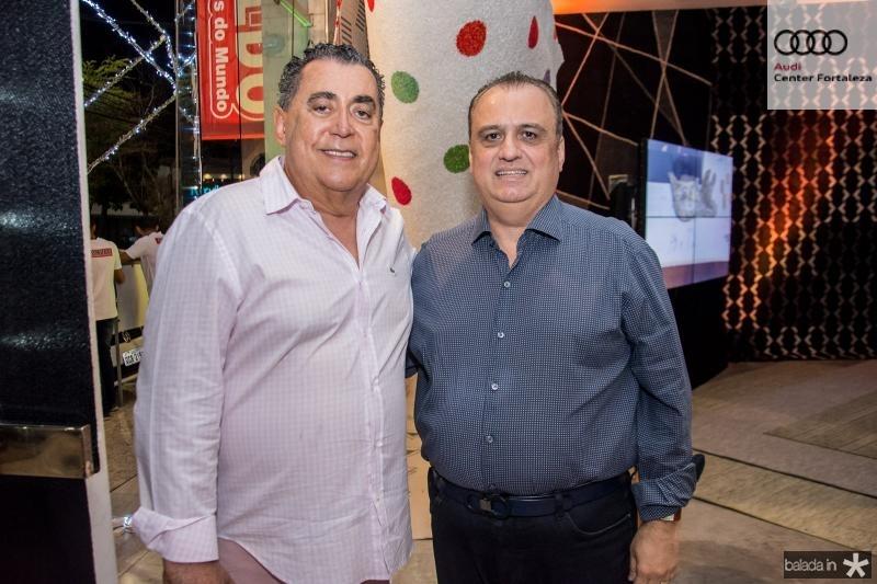 Adroaldo Carneiro e Max Camara