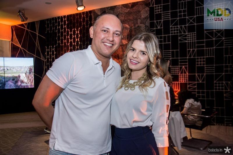 Julio Vieira e Tatiana Almeida